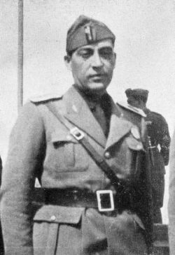 Guido Cortese, federal secretary of the Fascist Party.